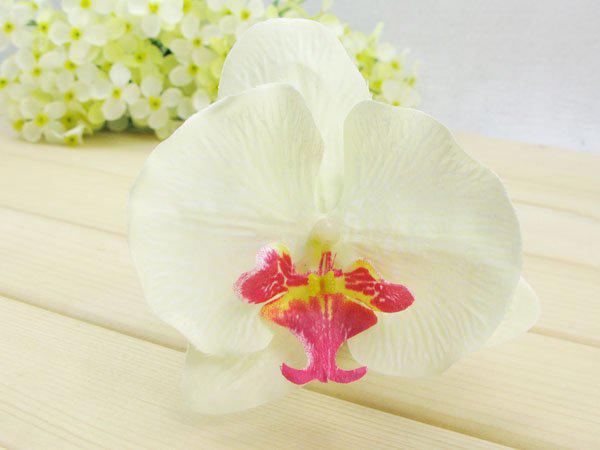 grampos de cabelo flor da orquídea Artificial nupcial Hawaii Party Girl cabelo fascinator acessórios no atacado