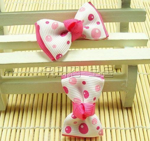 새로운 아기 베리렛 활 BB 클립 헤어 액세서리 카드 발행 공주 머리 장식