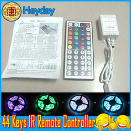 Wholesale Static Key - 16 static color 6 dynamic model 44 key DIY infrared IR Remote controller GRB port wireless LED strip