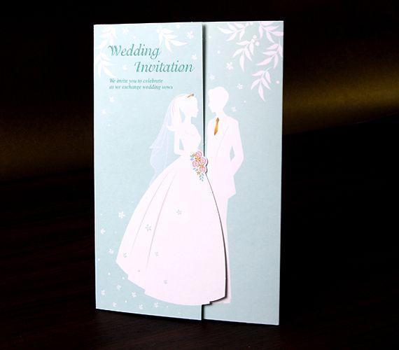 Guaranteed100Exquisite Folding Wedding Invitation Card Free – Folding Invitation Cards