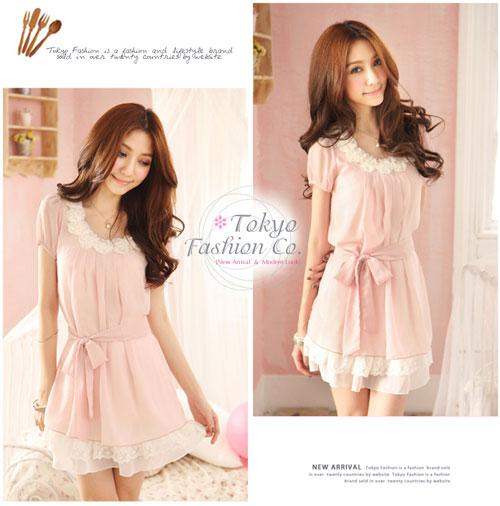 Korean Girls Fashion Dress
