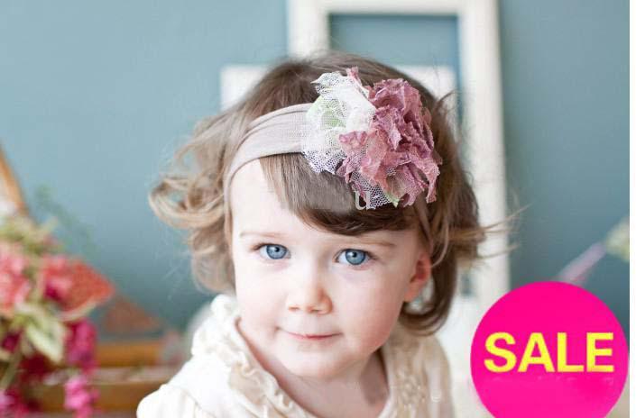 Baby-Stirnband des besten Matchoberseitenbabystirnbands buntes bändchen Stirnbandhaar 50pcs / lot