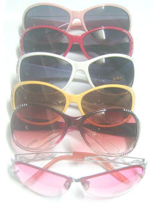 10 teile / los mix stil farben dame frauen mode uv schützen sonne sonnenbrille für augen gl7
