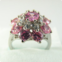 Wholesale Exquisite Stone - Free shipping EXQUISITE NATURAL 6.0CT SAPPHIRE 14KT GOLD GEMSTONE RING -SW056