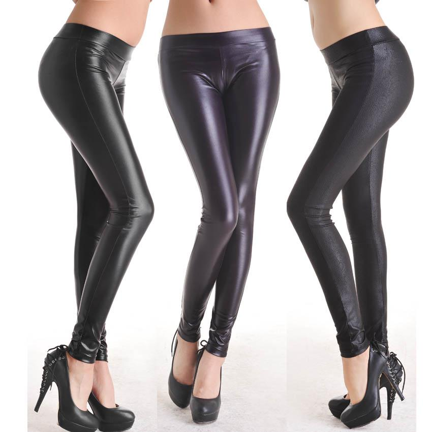 Amazoncom: womens leather pants: Clothing, Shoes & Jewelry