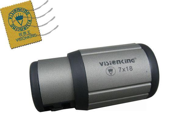 Frete Grátis Visionking Mini Close Up 7x18 compacto Close-Focus Monocular ao ar livre de Alta Qualidade