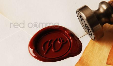 Sceau de timbre Cire Cire Vintage Classic Antique Alphabet Alphabet Initial Lettre Set En laiton Color Post