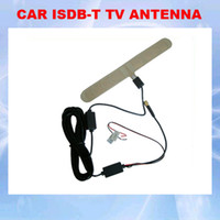 Wholesale Special Antenna - Free shipping ISDB-T Digital Car TV Active Antenna with Amplifier special for Japan and Brazil