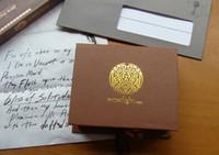 selos da família venda por atacado-selo selo de vedação de Cera do vintage clássico antigo conjunto de latão cor crepúsculo lobisomem família marca presente