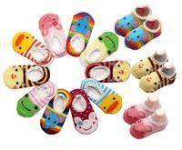 Wholesale Nonslip Sock Shoes - 60pairs Cute! BUSHA Nonskid baby socks - Nonslip Toddler Footgear Baby Shoe Sock baby booties sox