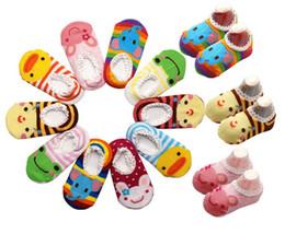 Wholesale Cute Animal Baby Booties - 60pairs Cute! BUSHA Nonskid baby socks - Nonslip Toddler Footgear Baby Shoe Sock baby booties sox