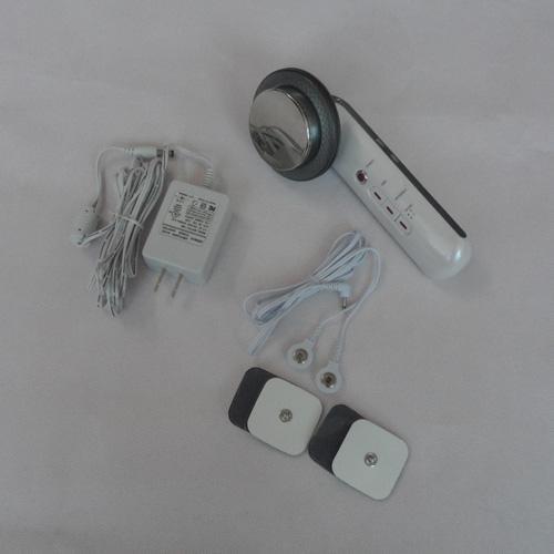 Portable 3 en 1 ultrasons EMS et machine infrarouge de rajeunissement de peau de beauté