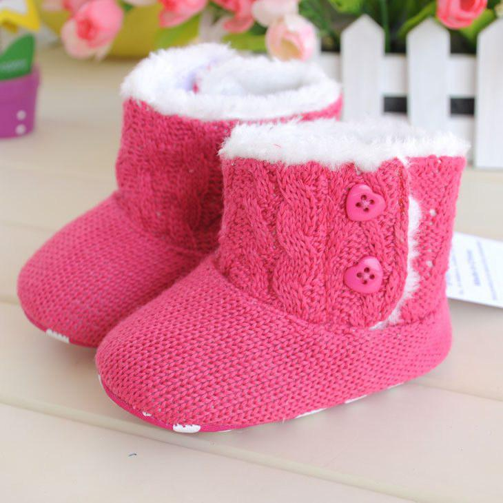 1a5018913e64c 2019 PINK Baby Winter Boots Shoes Baby Winter Boot Shoes Infant Boots Baby  Shoes Booties Prewalker XI003 From Baby_mart, $153.05 | DHgate.Com