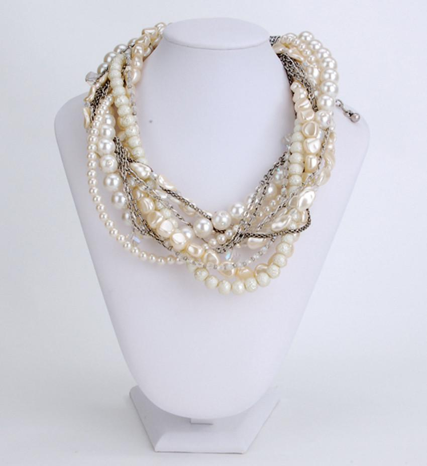 2017 Hot Women's Jewelry,pearls Necklace,rice Withe Pearls With Plating  Silver Chain,noble Fashion,lot From Dearleena, $1709  Dhgate