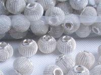 прелести prata оптовых-DIY баскетбол жена серьги теннис бусины интервал бусины 300 шт. 14 мм сетки бусины