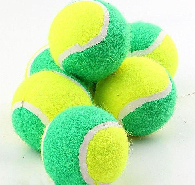 2019 Hot Selling Best Dog Chew Toys Tennis Ball Polychromatic 7cm