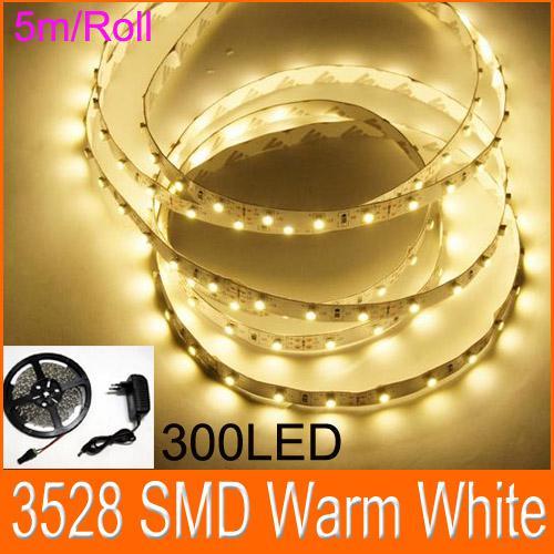 Led flexible light strips 3528 smd led flat rope light 300led led flexible light strips 3528 smd led flatg aloadofball Choice Image