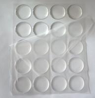 aufkleber für das handwerk großhandel-Anhänger Handwerk Scrapbooking klar Epoxy Aufkleber Harz Dot 3D Kuppel selbstklebende Aufkleber 1 'Kreis