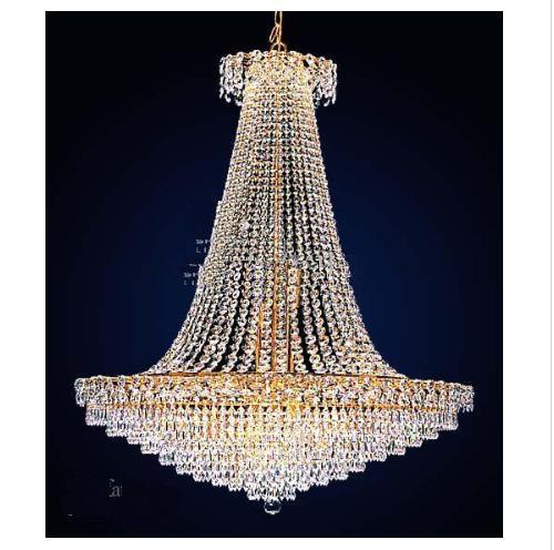 Hotest Sale Hotel K9 Crystal Chandeliers Crystal Light Galss – Chandeliers Prices