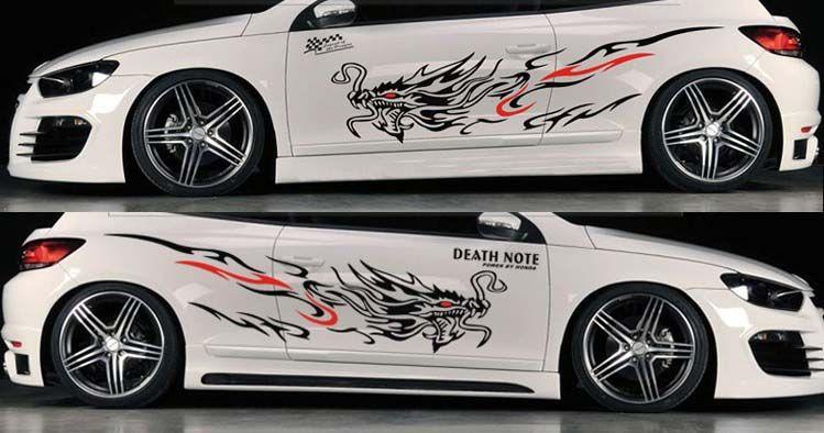 Graphics For Large Dragon Car Graphics Wwwgraphicsbuzzcom - Custom decal graphics on vehiclescar decals on decaldrivewaycom car decals custom decals car