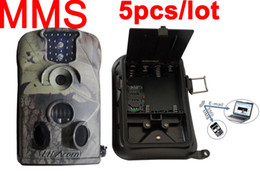 Wholesale Little Acorn Mms Camera - Ltl acorn 5210MM 940NM MMS hunting camera MMS animal scouting trail wildview Surveillance camera 5pc