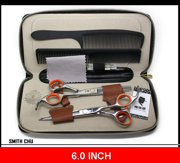 Hair Barber home tijeras salón Tijeras de peluquería acero inoxidable 6.0 PULGADAS SMITH CHU NUEVO