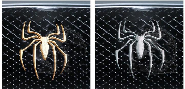 / 3D PVC 거미 개인화 된 자동차 스티커 재미 있은 자동차 창 스티커 자동차 스타일링