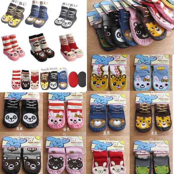 Approvisionnement d'usine chaussettes de bébé chaussettes infantile d'enfant de baskets chaussettes de chaussettes de fille trompette pieds doux assortis