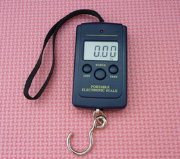 Wholesale Shipping Scale Lbs - free shipping 40kg x 10g Electronic Portable Digital Scale lb oz,Pocket Electronic Lage Weight,dr