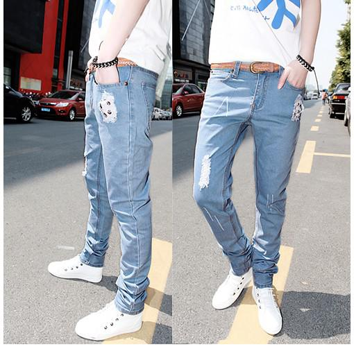 New Hot Men's Jeans Slim Fit Style 278 Size W28-W33 Online with ...