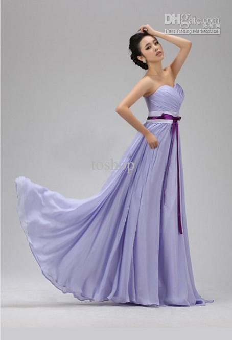 Valentines Day Gift Wedding Dress Light Purle Color HOT Party Drop Shipping Fashion Nice 2018 From Toshop 2952