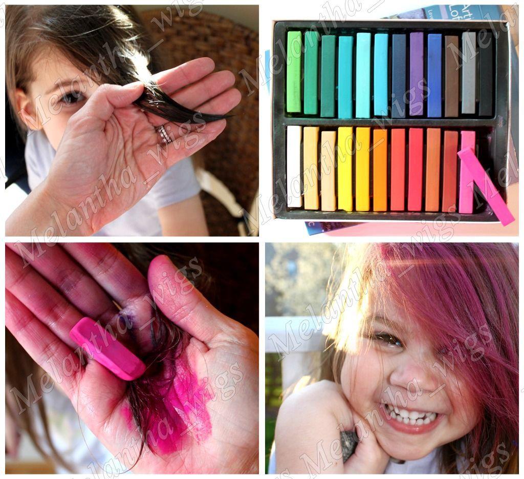 Hair Color Chalk A Trendtemporary Color Hair Chalk Bug Rub Fun Fast
