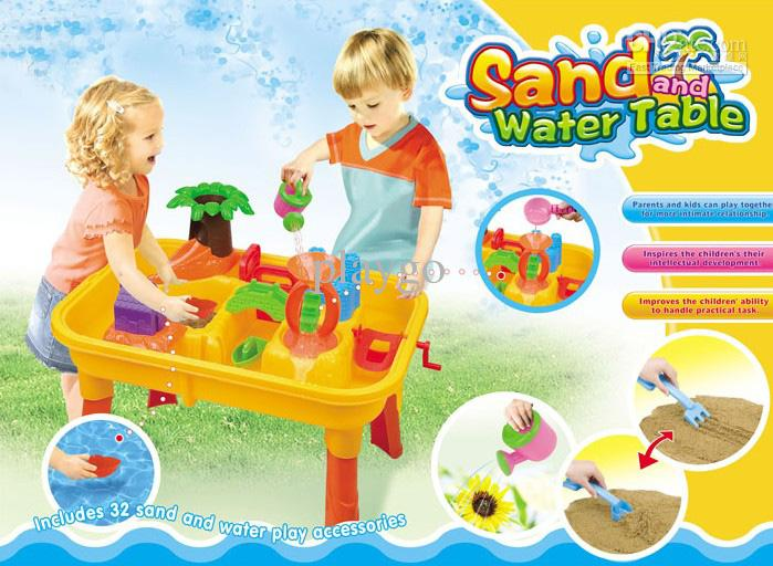 Good 2018 Sand Water Table/Waterwheel Play Table/Beach Sand Toy From Playgo,  $61.28 | Dhgate.Com