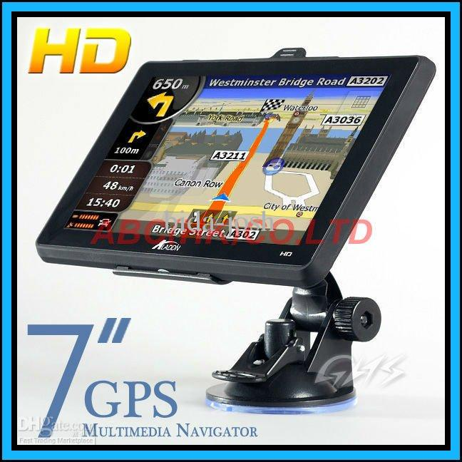 Best Car Gps 7 Inch Navigation System 4gb Free World Map