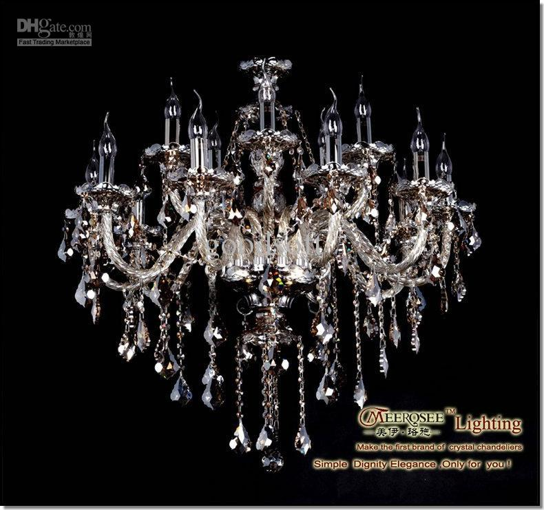 Crystal Chandelier Price: Wholesale Price Cognac Crystal Chandelier, Chandelier