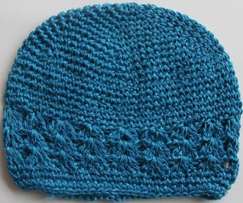 Häkeln Sie Kufi-Hut Mädchen Baby Kufi Mütze Mütze 16 Farben und 2 Größen zu wählen Bogenclip - BabyToddler