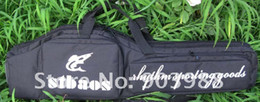 Wholesale Double Rifle Carry Case - New tactical carry case 1m rifle gun slip double bag black free shipping