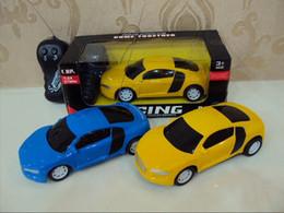 micro radio mini rc Promotion Mini RC Radio Télécommande Micro Racing Car Mix 3 couleurs Livraison Gratuite Par EMS