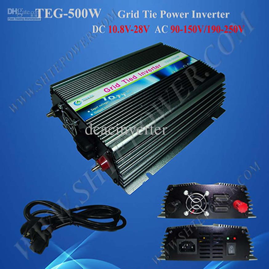 For Dc 12v Solar Panel Home System Micro 500w On Grid