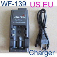 Wholesale Chargers For Ultrafire Batteries - Free Fedex,20pcs UltraFire WF-139 Rapid Charger for 18650 3.7V Lithium Rechargeable Battery
