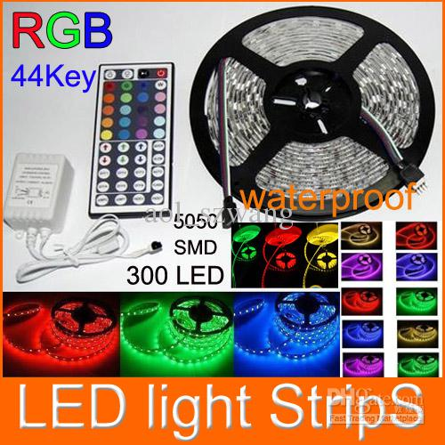 50m rgb 5050 smd flexible led strip light waterproof ip65 300 led 50m rgb 5050 smd flexible led strip light waterproof ip65 300 led 44key controller led rope strip light light strips flexible led strip from aolszwang aloadofball Gallery