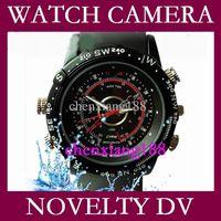 Wholesale Dvr Video Recorder Camera Watch - Hot Mini DV 4-32GB CCTV Watch Camera DVR AVI 30FPS hidden camera Video Recorder Waterproof