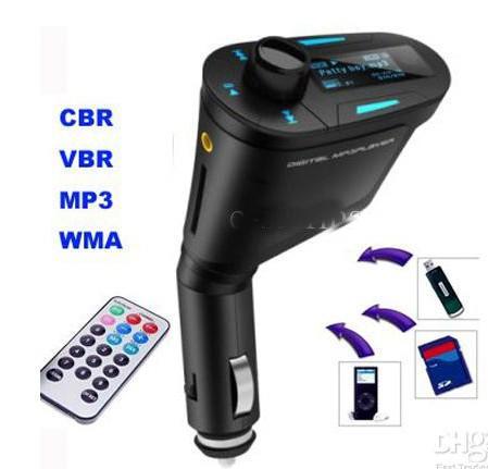 سيارة مشغل MP3 لاسلكي الارسال مع فتحة USB SD MMC H157