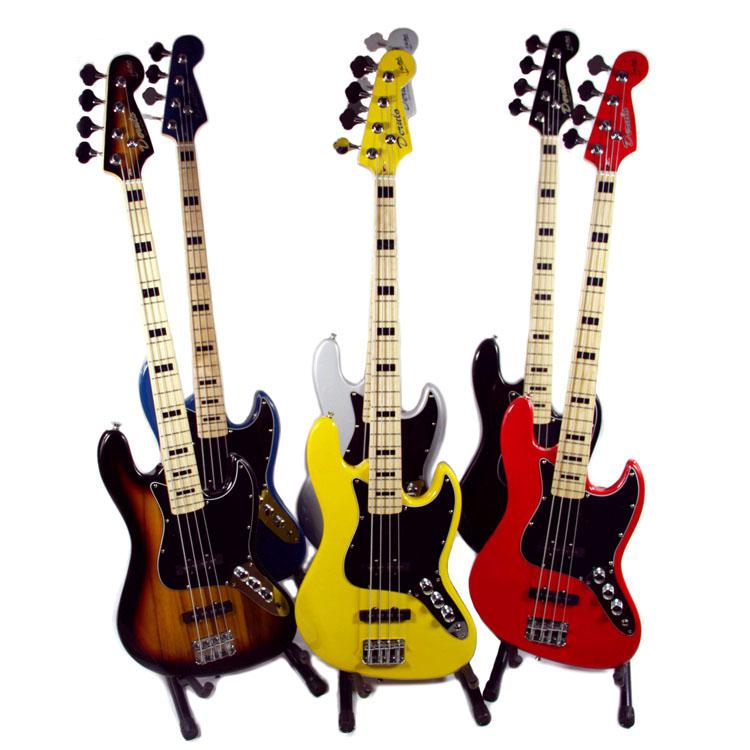 best chinese cheap guitar bass 4 string bass red bass inventory black and yellow and deep gray. Black Bedroom Furniture Sets. Home Design Ideas