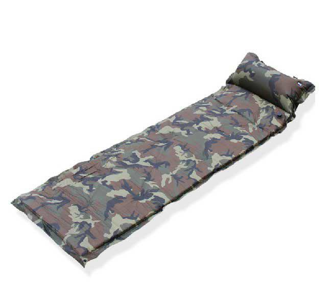 Outdoor Air Mattress Camping Inflatable Bed New Self