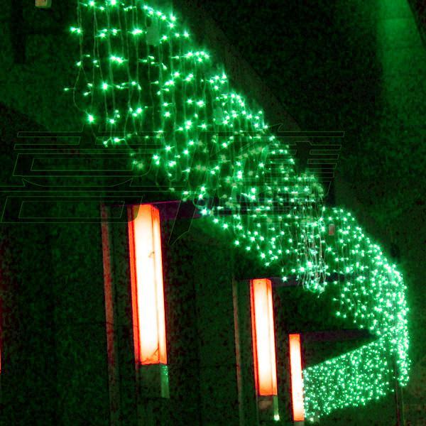 320 luci a LED 10 * 0.55 ~ 0.65m Luci tende, luci di ornamento di Natale impermeabili, Fata weddind ghiacciolo illuminazione a LED a strisce Illuminazione a led srtips