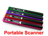 Wholesale Handyscan Scanner - Scanner New Mini Portable Scanner Handyscan Cordless Handheld 600DPI LZ-415B