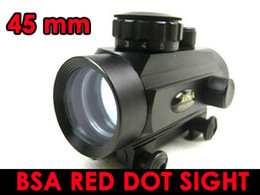 $enCountryForm.capitalKeyWord NZ - FREE SHIPPING-BSA 45mm tactical Red Green Dot rifle pistol Scope sight 20mm Weaver mount