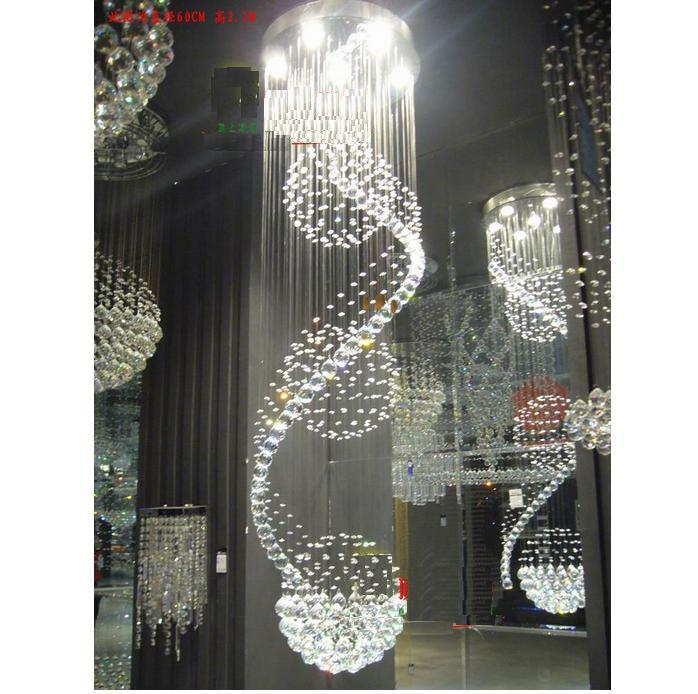 2012 Latest Crystal Ceiling Light, Chandelier Pendant Lamp Chain ...
