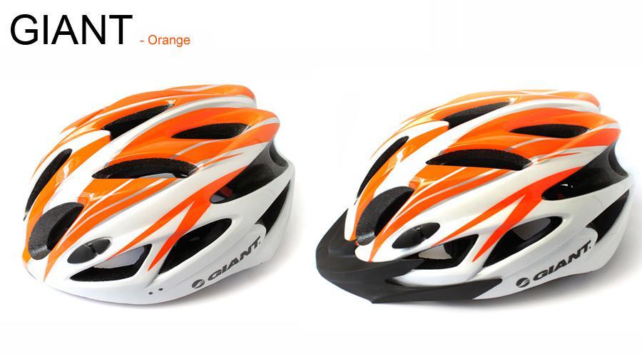 Bicycle GIANT Helmet 18 Holes Un casco de bicicleta de carreras ultraligero integrado Cycling